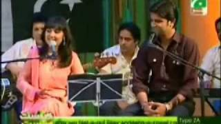 Pakistani Patriotic Songs Medley in Brunch With Bushra Part1