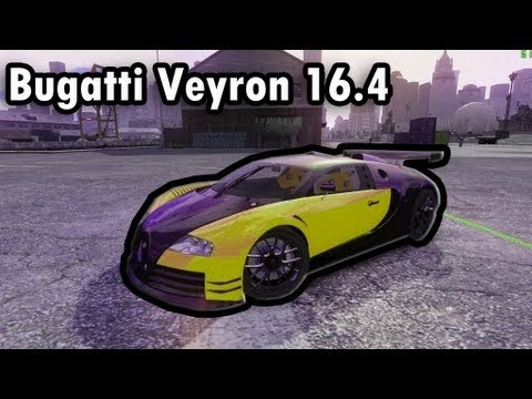 gta iv mods bugatti veyron 16 4 body kit final download youtube. Black Bedroom Furniture Sets. Home Design Ideas