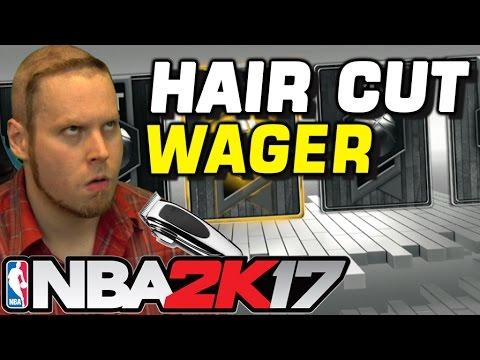 HAIR CUT WAGER in NBA 2K17