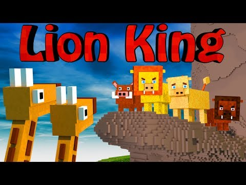 Minecraft Mods   MORPH HIDE AND SEEK - The Lion King Mod!