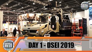 DSEI 2019 International Defense and Security Exhibition London UK Land Zone Show daily Web TV Day 1