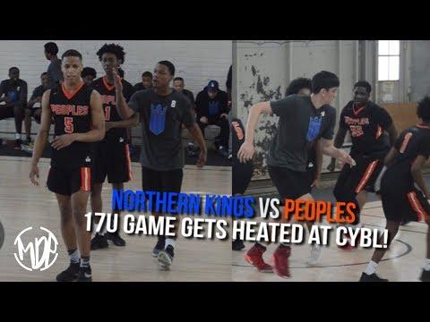 Northern Kings VS Peoples Got HEATED! Top 17U Teams Battle A