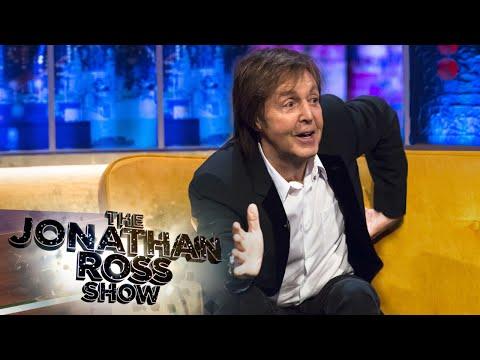 Paul McCartney Walking To Abbey Road - The Jonathan Ross Show