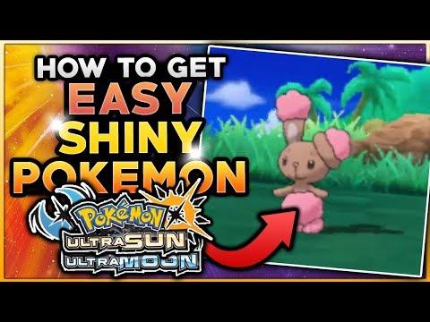 HOW TO EASILY GET SHINY POKEMON IN POKEMON ULTRA SUN & ULTRA MOON! Pokemon SOS Shiny Hunting Guide!