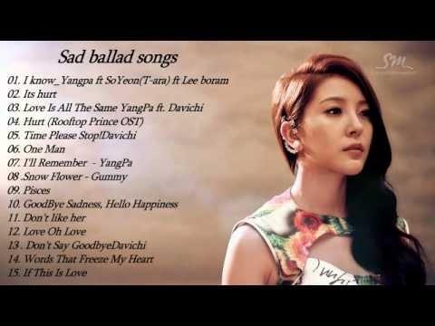Sad ballad songs kpop    Sad songs of KOrean    Top 10 sad korean songs