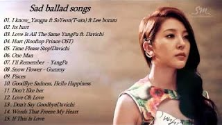 Sad ballad songs kpop || Sad songs of KOrean || Top 10 sad korean songs