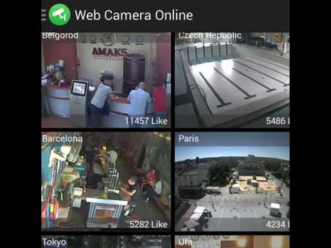 Web camera online cctv ip cam is application for watch for Camera streaming live