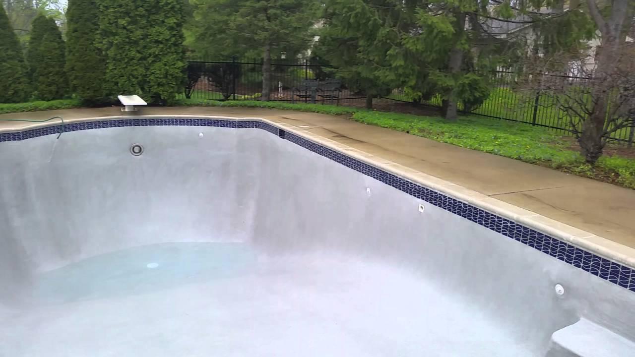 Sunstone Quartz Aggregate Super Blue Specialty Pool Finish Plaster Resurfacing Michigan