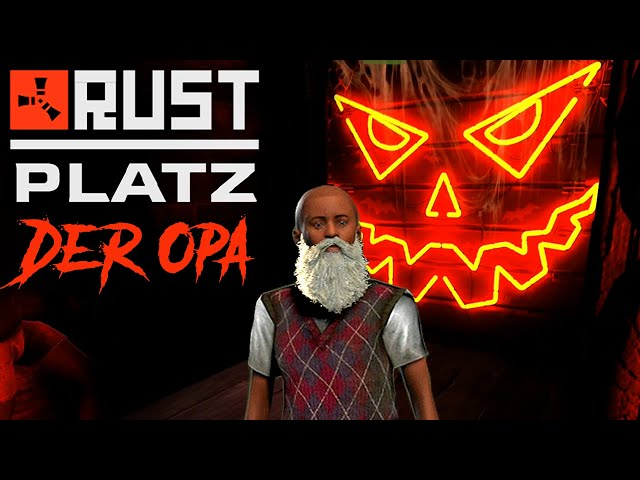 RUSTplatz [S2] #45 👴🏻 Mit Alien im Gruselhaus 💥 Roleplay Projekt [Deutsch]