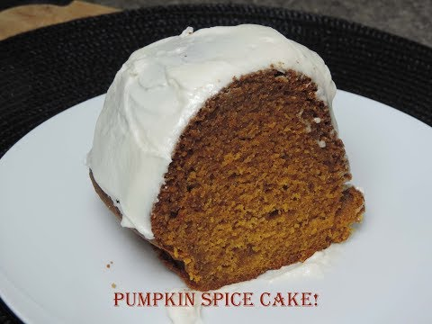 Pumpkin Spice Cake! (With Cream Cheese Frosting) | Ep #179