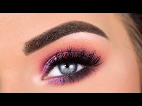 ABH x CARLI BYBEL PALETTE | Purple Berry Eyeshadow Tutorial thumbnail