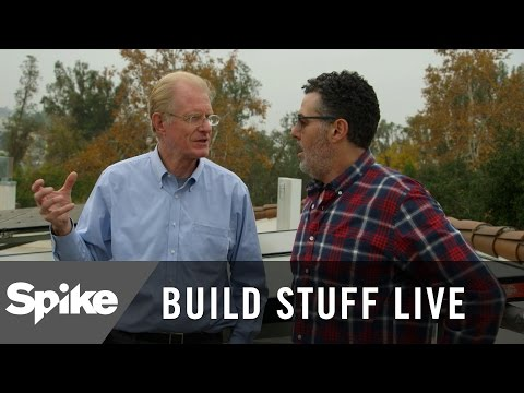 Adam Carolla Tours Ed Begley Jr.'s House | Build Stuff Live
