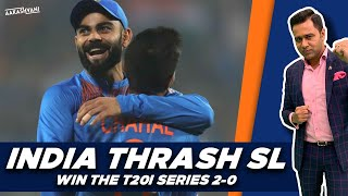 INDIA thrash SL to WIN the series   #AakashVani   IND vs SL 3rd T20I Review
