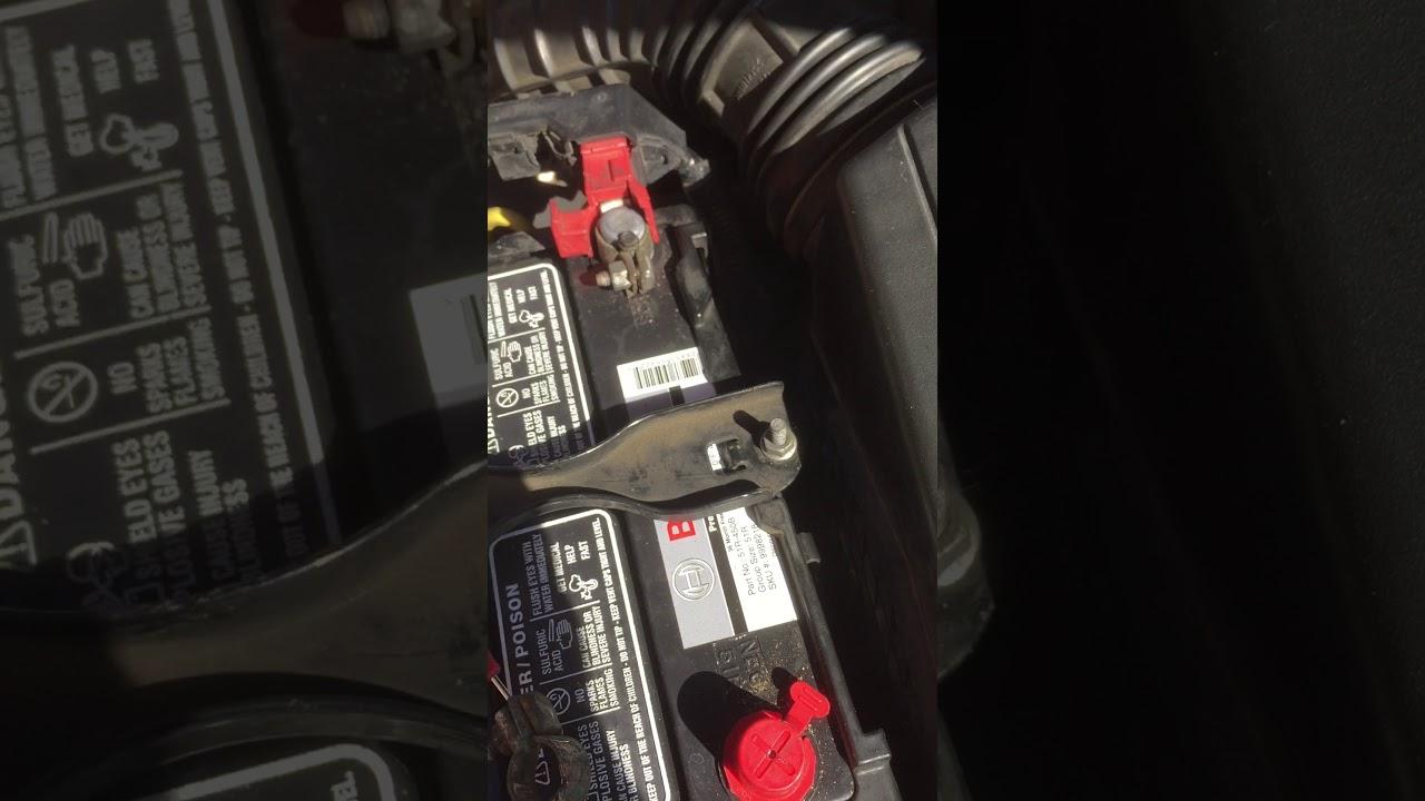 2007 Acura Tsx Battery Draining