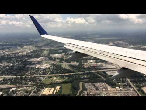Landing in Indianapolis