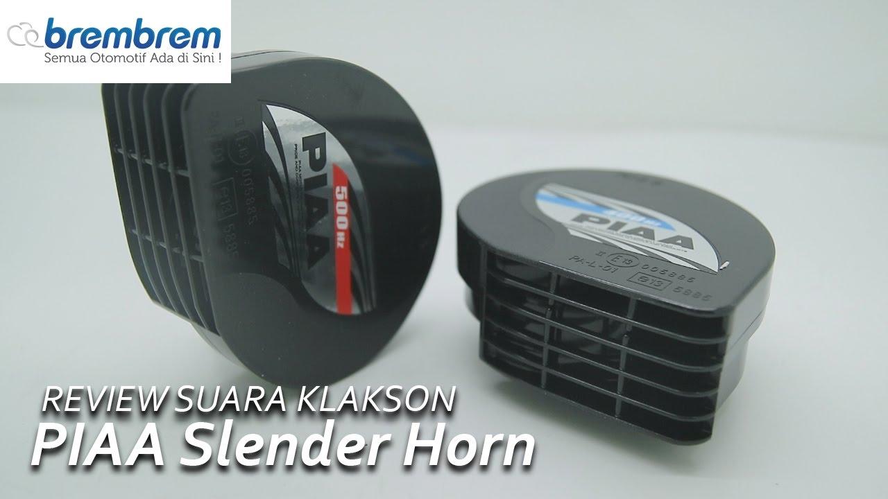 Review Suara Klakson Piaa Slender Horn Brembrem Youtube Motor Keong Mocc Single