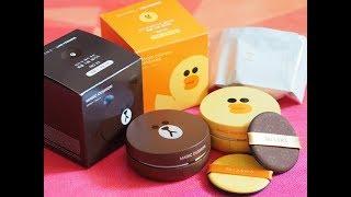 Reseña de Productos Coreanos | MISSHA x LINE Cushion