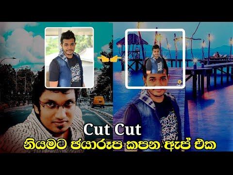 Cutout & Photo Background Editor  Professional Photo Editor  App Free to Use | Sinhala 🇱🇰