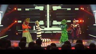 Ondel-Ondel vs Ulat Hip Hop vs Putri Daun vs Pastel Warrior 'Kangen' |The Mask Singer Eps. 13(1/11)