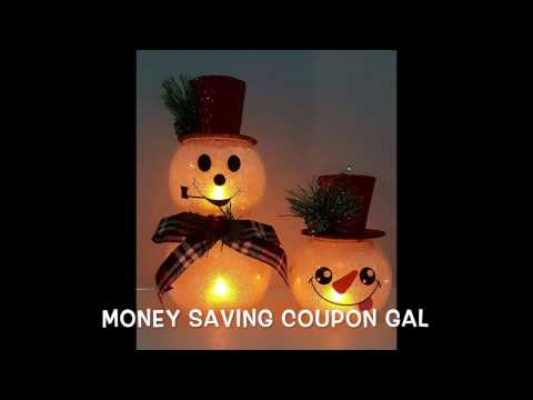 Thumbnail: DOLLAR TREE ☃️SNOWMAN☃️ TUTORIAL AND 😂BLOOPER😂