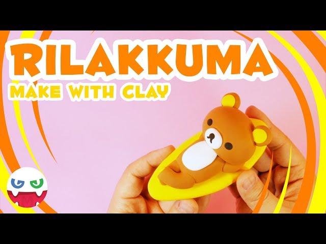 How to Make a Rilakkuma with Clay