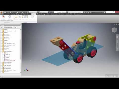 Autodesk Inventor 2016 Tutorial | Assembly Management