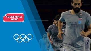 Men's Volleyball Training with Iran | Rio 2016 Olympic Games