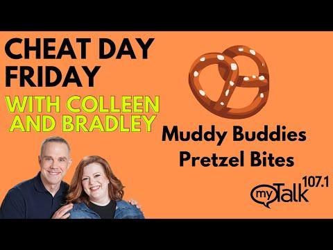Cheat Day Friday: Muddy Buddies Pretzel Bites!