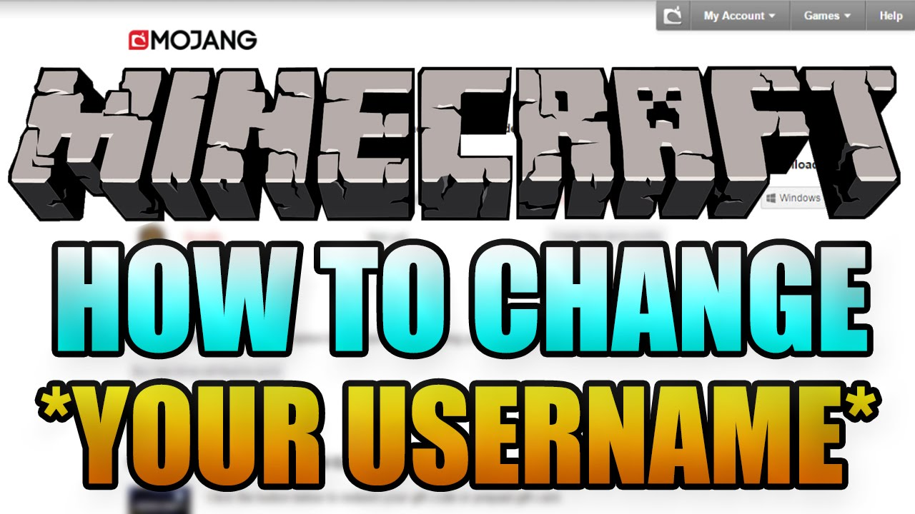 How to change your minecraft username new how to change minecraft how to change your minecraft username new how to change minecraft name 18 youtube solutioingenieria Images