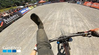 GoPro: Nina Hoffmann's Shoeless Finish - UCI Vallnord 2019