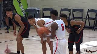 CRAZIEST BUZZER BEATER YOU'VE EVER SEEN?!? Houston Hoops Chris Harris NAILS the Game Winner!