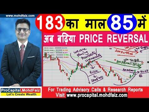 183 का माल 85 में  अब बढ़िया PRICE REVERSAL   Latest Share Market Tips
