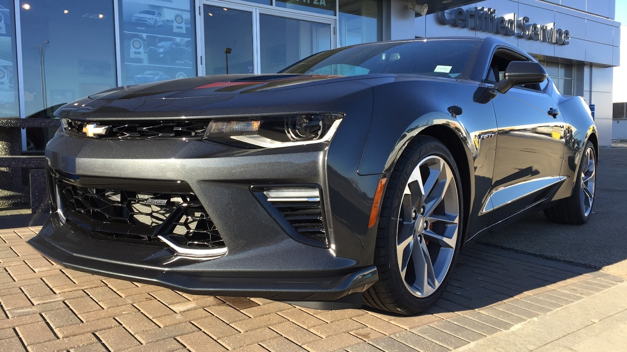 new 2017 chevrolet camaro 2ss for sale grey gray manual rwd 17n075 youtube. Black Bedroom Furniture Sets. Home Design Ideas