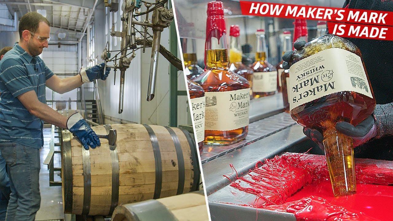Download How Maker's Mark Distills 24 Million Bottles of Bourbon per Year — Dan Does