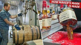 How the Maker's Mark Distillery Produces 24 Million Bottles of Bourbon per Year — Dan Does