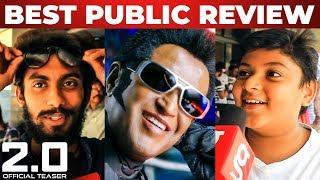 2.0 Official Teaser Public Review   Rajinikanth   Akshay Kumar   A R Rahman