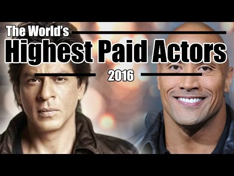 World's Highest Paid Male Actors 2016