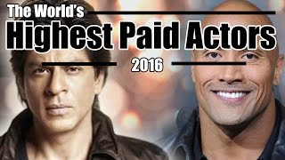 10 World's Highest Paid Male Actors || Bollywood vs Hollywood