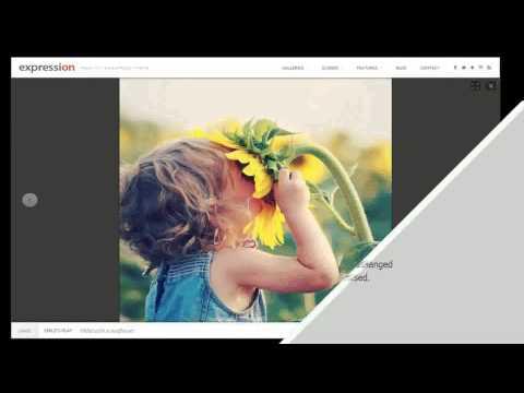Expression photography responsive wordpress