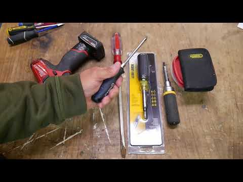 Screwdriver types, uses, ideas, and more. Klein 3257 Multi Heavy Duty.