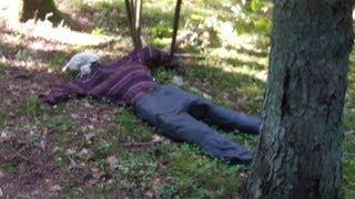 Натерпелся ужаса, когда нашел его в лесу. Страха на 24 часа