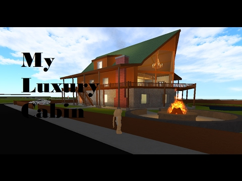 Roblox rocitizens luxury cabin tour youtube for My luxury home
