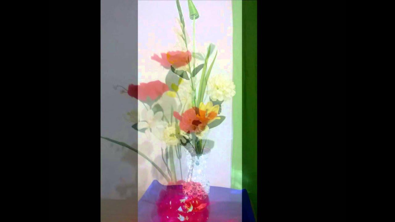 Arreglos florales artificiales con luz youtube - Arreglos florales artificiales para casa ...