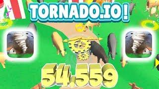 TORNADO.IO GAMEPLAY THE VILLAGE (54.599)