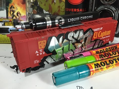 ArtPrimo Presents: Molotow Liquid Chrome Marker