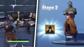 "How to Unlock Stage 2 of the Skin ""THE PRISONER"" - Fortnite Battle Royale!"