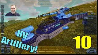 Lift Plays Empyrion S6E10 - POI Assault With HV Artillery