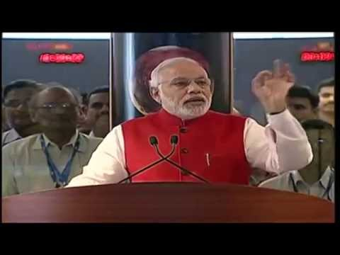 PM Shri Narendra Modi's address on successful insertion of  Mars Orbiter Mission into Martian orbit