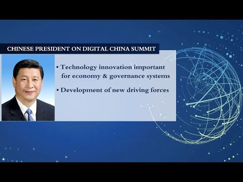 Chinese President Xi Jinping Sends Congratulatory Letter to the First Digital China Summit