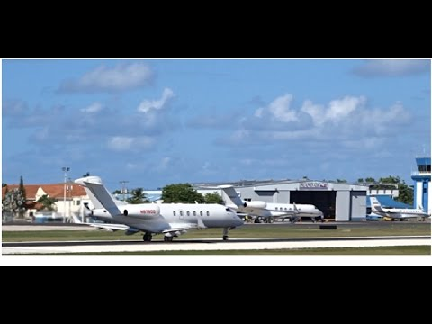 Business/Private Jets Landing and Departing Grand Cayman!